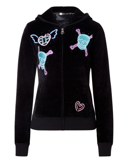 "Hoodie Sweatjacket ""Billion Bling"""