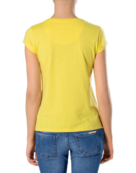 "T-shirt Round Neck SS ""Flowery"""
