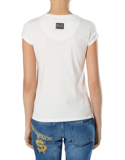 "T-shirt Round Neck SS ""Blue"""