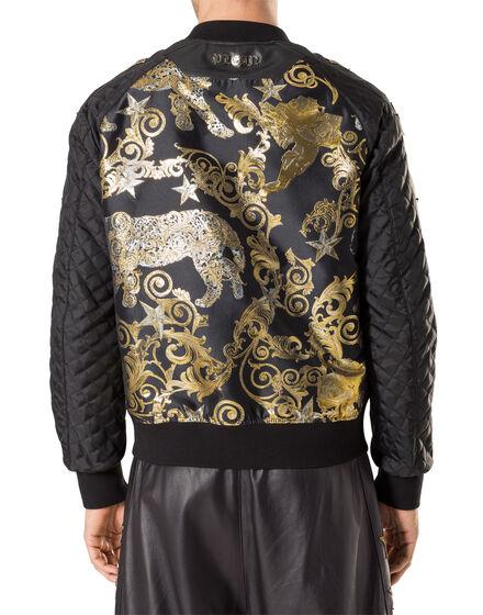 "Nylon Jacket ""Feel gold"""