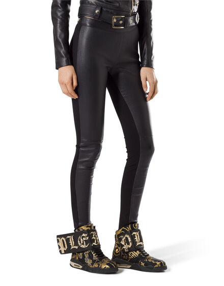 "Leather Leggings ""Fonte"""