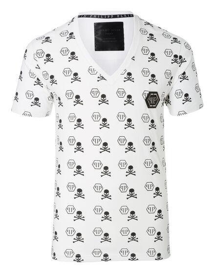 T-shirt V-Neck SS Naga