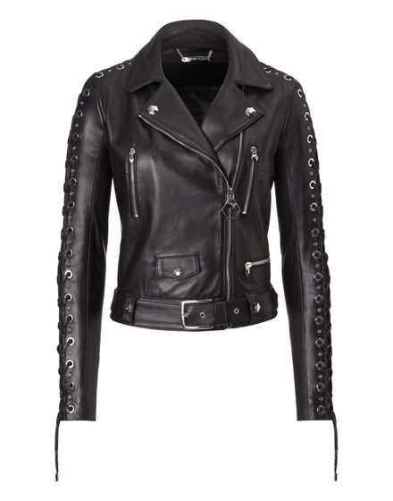 "Leather Jacket ""Artemide"""