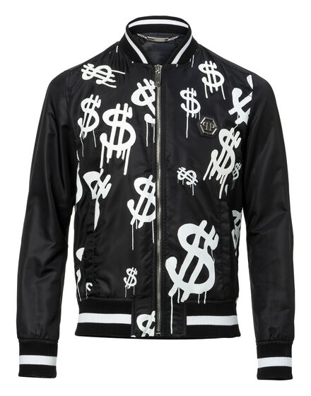 Nylon Jacket White money