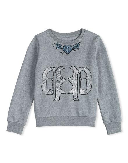 Sweatshirt LS Antique White