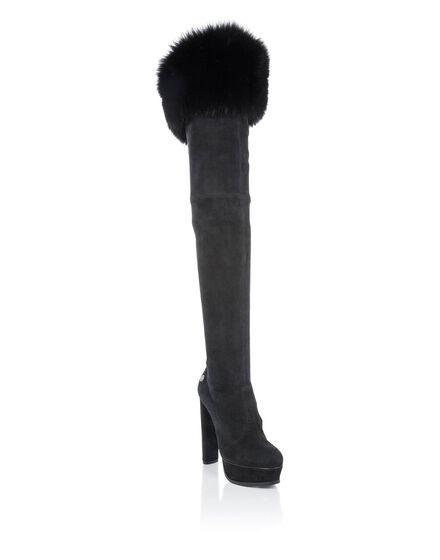 Boots Hi-Heels Overknees JENNIFER ANNA