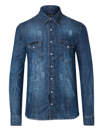 "Denim Shirt Ls ""Flirt"""