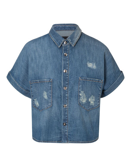 "Denim Shirt SS ""Williamsburg"""