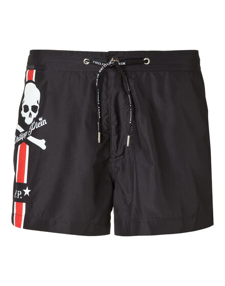 "Beachwear Trousers ""My skull"""