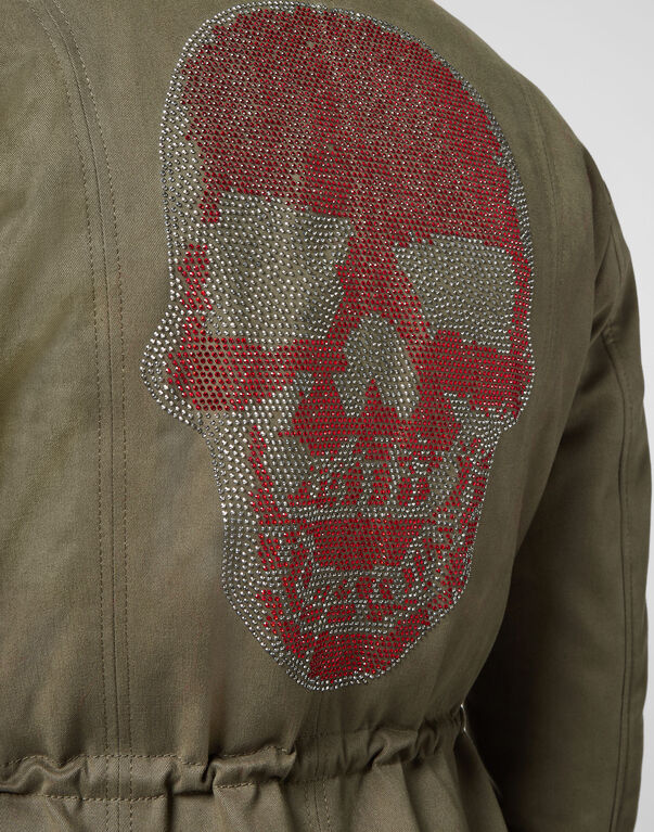"Parka ""On the avenue"" Skull"
