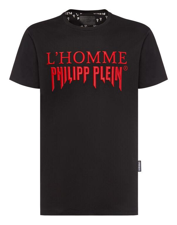 T-shirt Platinum Cut Round Neck Rock PP