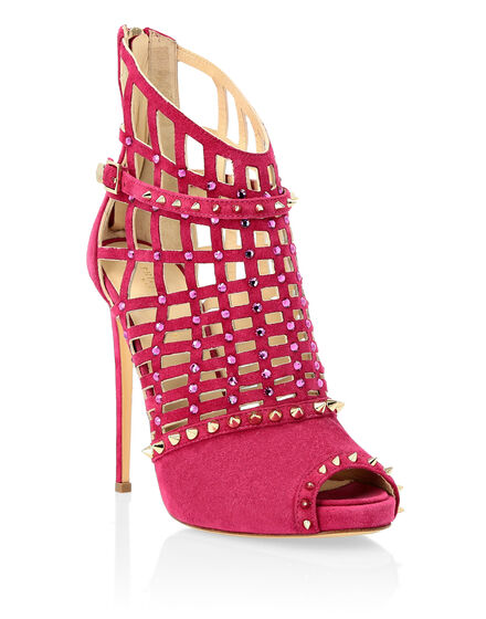 Sandals High Heels Pink Paradise