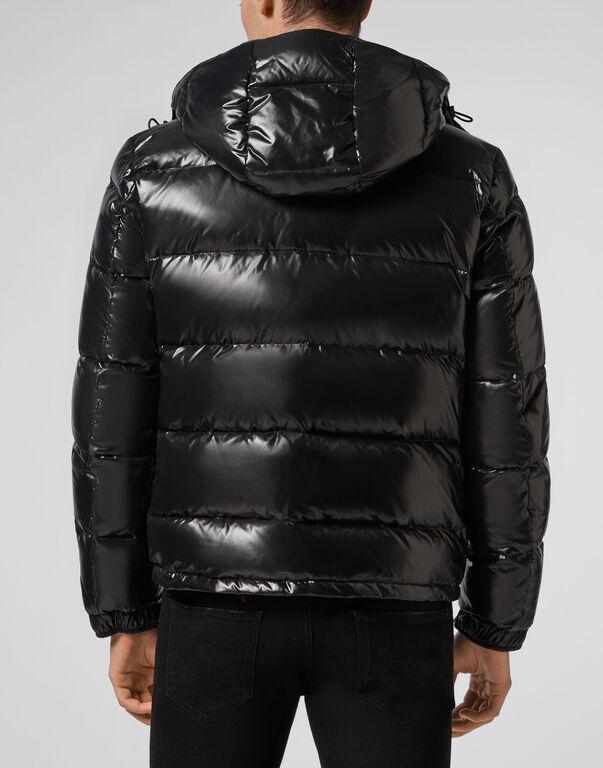 Nylon Jacket  Outline Skull