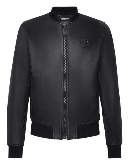 Leather Bomber Original