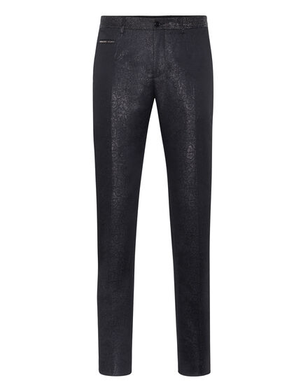 Long Trousers jacquard Elegant