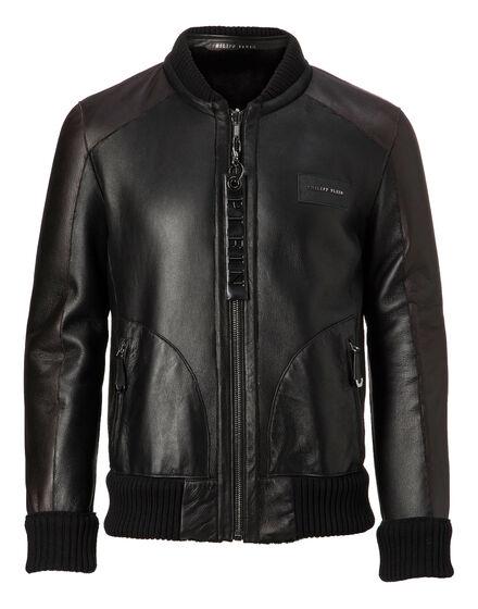 Leather Bomber Martin
