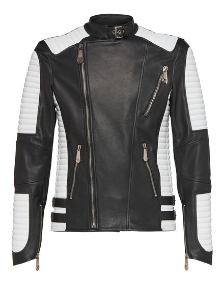 Leather Biker Nothing