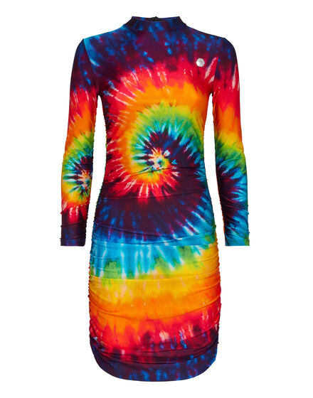 Short Dress Tie dye