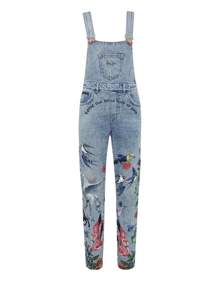Denim Jumpsuit Jungle
