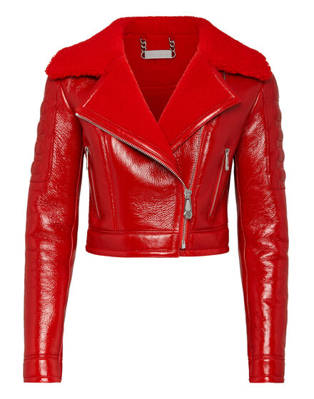 Leather Biker Crop Killer  Latex