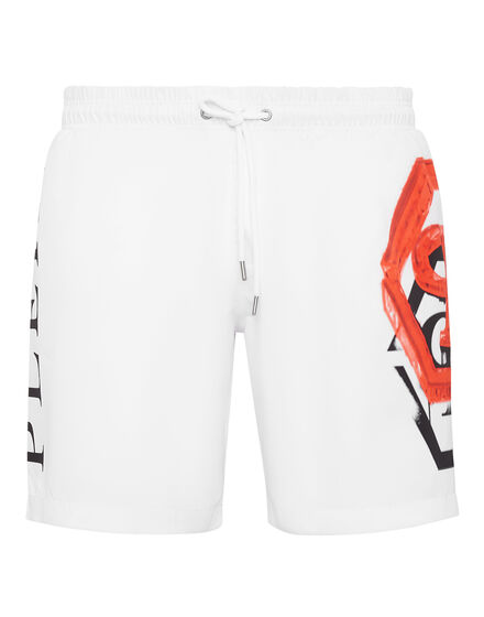 Beachwear Short Trousers Hexagon