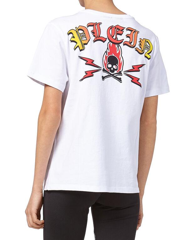 "T-shirt Round Neck SS ""I Am A Diva"" 90210"