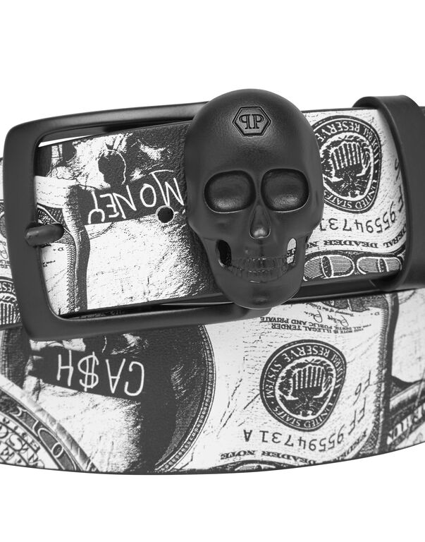Belt skull buckle Dollar