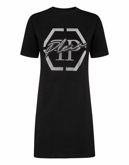 T-shirt Short Dresses Hexagon