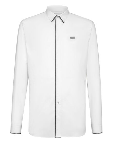 Shirt Crystal cut LS