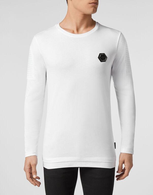 T-shirt Round Neck LS Statement