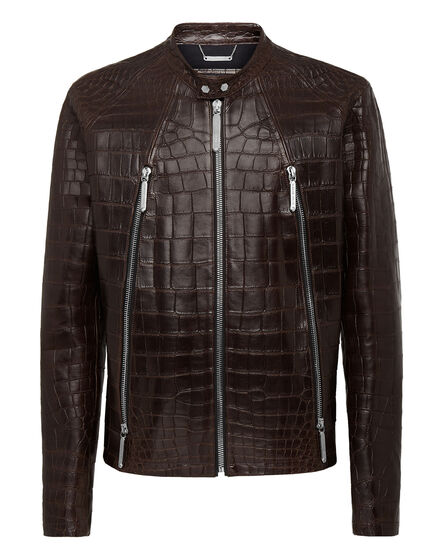 Leather Moto Jacket Philipp cocco