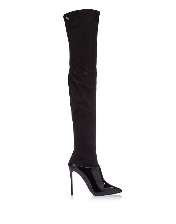 """Boots Hi-Heels Overknees """"GRACE"""""""