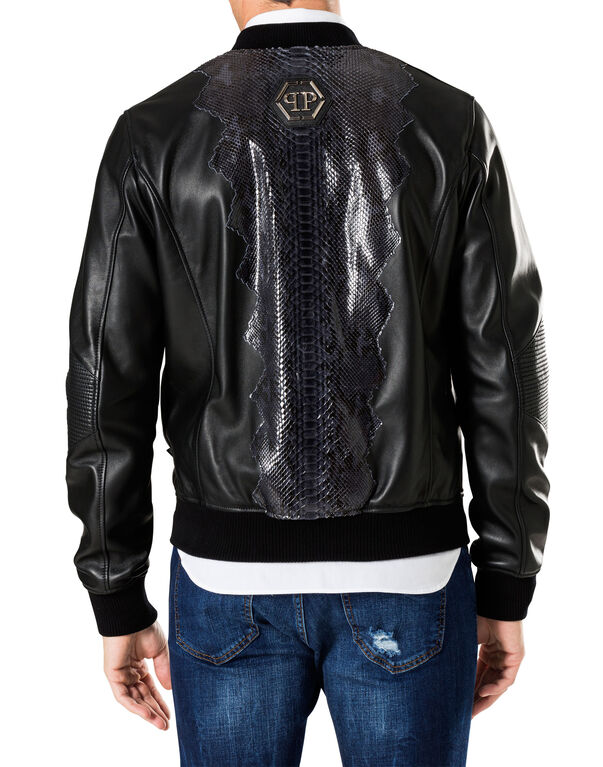 """Leather Bomber """"Tristan"""""""