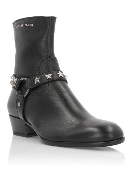 Boots Mid Flat Tom