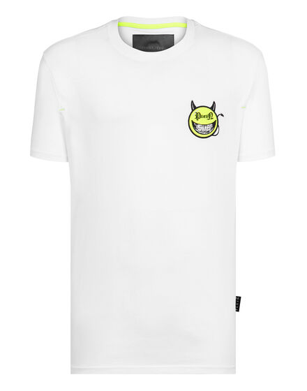 T-shirt Round Neck SS Evil Smile