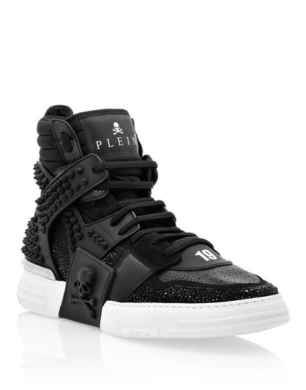 Hi-Top Sneakers PHANTOM KICK$ Skull