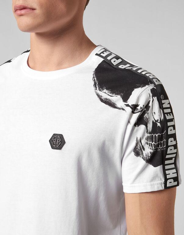 T-shirt Platinum Cut Round Neck Philipp Plein TM