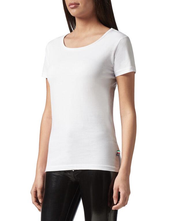 "T-Shirt Royal Cut Round Neck ""Basic Plein"""