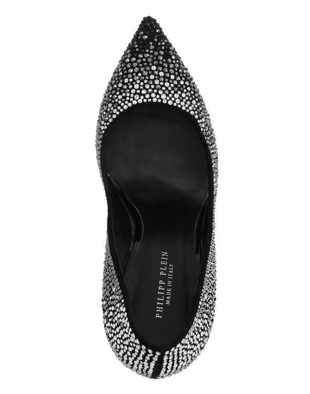 "DECOLLETE HI-HEELS ""Crystal Beauty"""