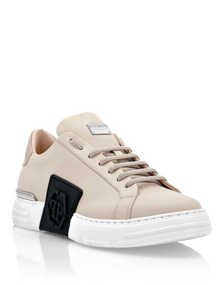 Leather PHANTOM KICK$ Lo-Top Sneakers Iconic Plein