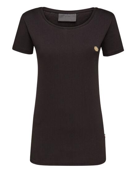 T-Shirt Royal Cut Round Neck Basic Plein