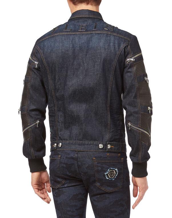 "Denim Jacket ""Zipped"""