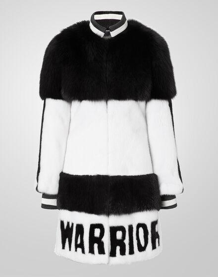 fur coat warrior