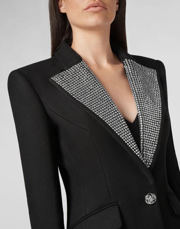 Coat Long Crystal