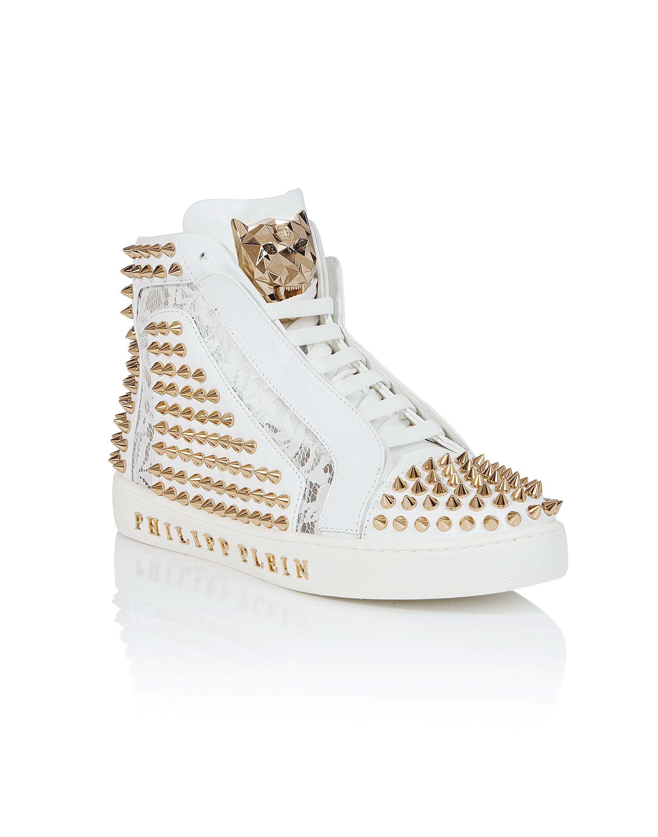 "Philipp PleinHi-Top Sneakers ""Everybody on the floor"""