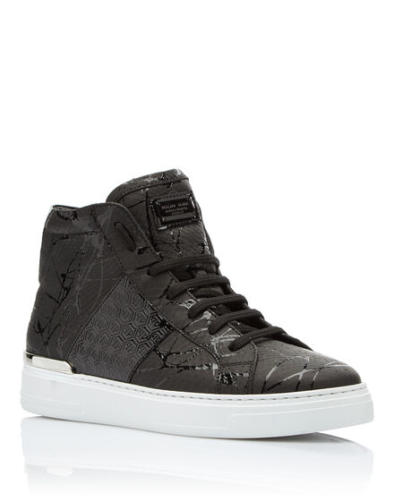 Hi-Top Sneakers Black one