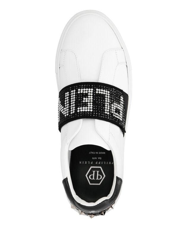 Lo-Top Sneakers Crystal Plein