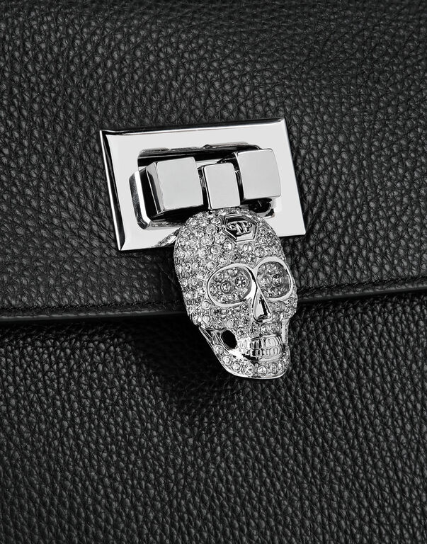 Handle bag Skull crystal