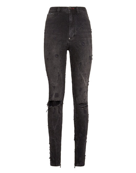 Super High Waist Jegging Statement