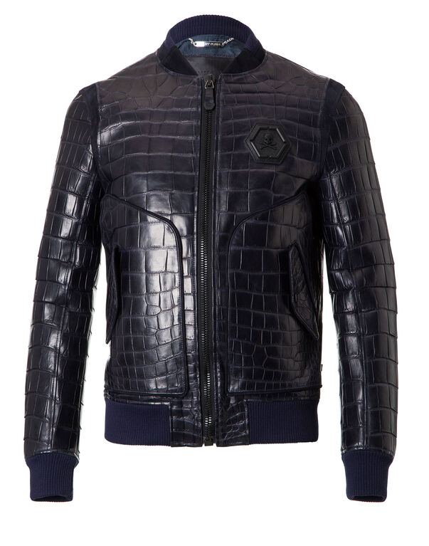 "Leather Bomber ""James"""